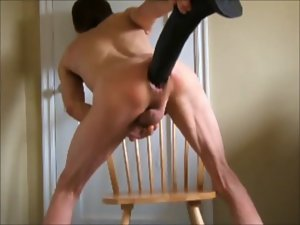 Stallion Shaft Horse Penis and Fist Screwed Double Rectal