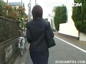 Yukino Attractive Asian Girl Gets Off When She Is Stroking Prick