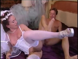 Bride banged and fisted
