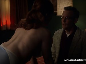 Erin Cummings naked - Masters of Sex S02E09 (2014)