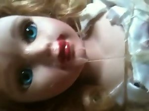 18year experienced doll tied in garage