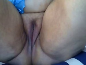 Masturbating mature whore