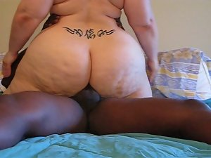 Kanji Casanova Obese Gets BBC in the Dirty ass