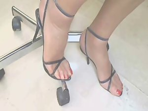 Magic Feet in Cam 2!!!!