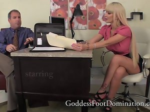 Foot Goddess Alexia Jordan Foot Fetish Shoe Worship