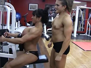 Gym Slutty chicks
