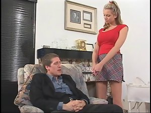 Married Man Backdoor Sex Two Facials For Big titted Babysitter