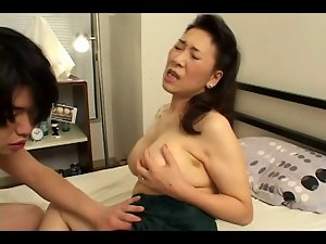 18 years old Fellow Screws Seductive japanese Aged Mama