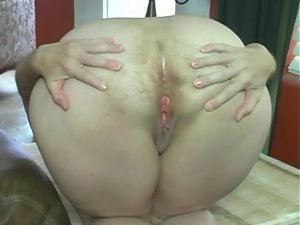 Very hairy Stunning anal Fart
