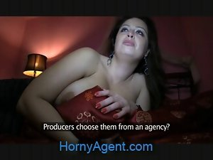 HornyAgent Massive Knockers shagged in the Hotel