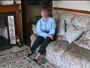 Home Video - English Couple screws in the carpet