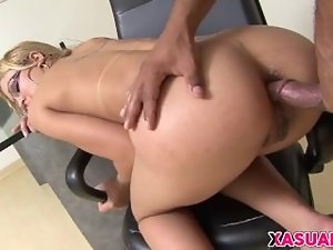 Lewd Latin Lass Anny Lee Needs Her Stunning anal Drilled