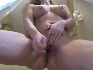 Experienced pierced light-haired puma Chrissy Ann
