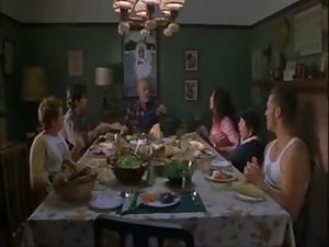 Mayko Nguyen Getting Eaten Out At Dinner Table - National Lampoon Going The