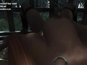 Skyrim POV: Caged Masturbation