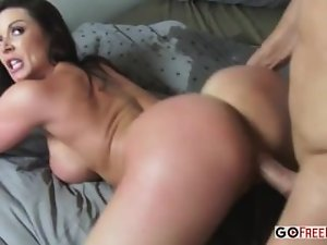 Buxom momma Kendra Lust banging her sons friend