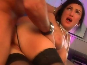 French Secretary Bangs Her Boss in the Office