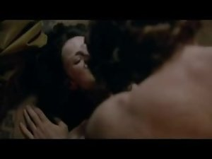 Caitriona Balfe filthy knockers and arsehole in sex episodes