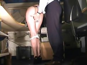 Secretary spanked and fingered
