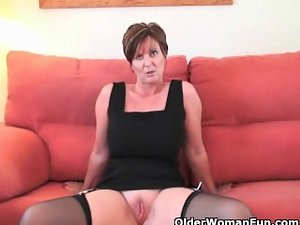 English sexiest slutty mom Joy collection