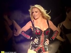 Britney Spears Sensual Live Dancing Complilation
