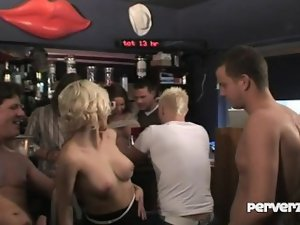 Perverts in a bar