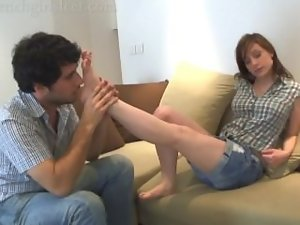 foot torture at kate's stinky feet