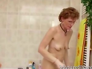 Kinky Granny Just Shaven