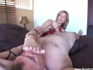 Slutty mom Handjob & Foot Worship Pop Culture