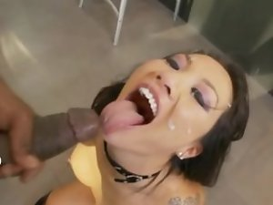 Asa Akira Cumshot Compilation - Part 1