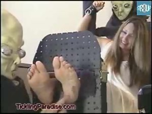 Captured by Aliens and tickled part 1