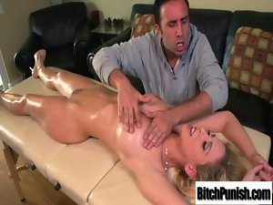 Tempting Luscious Client Chick Get Fucked Rough By Masseur movie-11