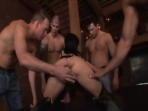 Rebeca Linares - Gangbang Auditions 23