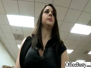 Mega big melons Sensual Office Young lady Get Sex Act At Work video-09