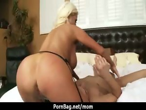 Mega boobs Filthy bitch Stepmom loves to ride huge shaft 21