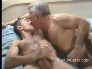 2 Gay Hung Very hairy Executive Daddies