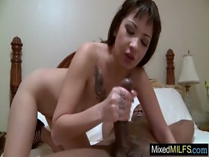 Cougar Like Horny Sex With A Enormous ebony pecker movie-13