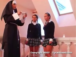 A Nun and 3 School Models