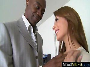 Chesty Alluring Cougar Need A Black Shaft In Every Hole video-33