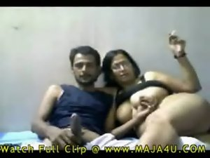 seductive indian couple sex on webcam