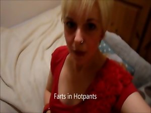 Farts in Hotpants