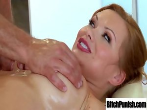 Masseur Give Dirty Sex Execution To Whore Luscious Clients clip-16
