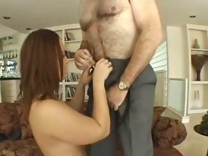 aged man bangs a thick lady