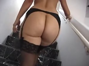 Big Dirty ass Cougar In Lingerie Brutal Screwing !