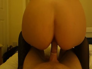 Polish Mummy rides me and makes me cum