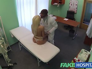 FakeHospital Doctors recommendation has sensual blond paying t