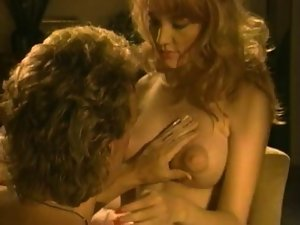 Vintage Puffy Nipple Redhead Gets Strong dick