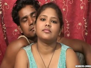 Lewd Desi Saucy teen With Extremely large tits Banged