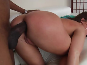 Big ass MILF only wants to feel this black stud in her butt
