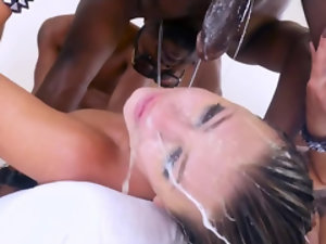 Adriana Chechik is an absolute master of deepthroat and excellent blowjobs